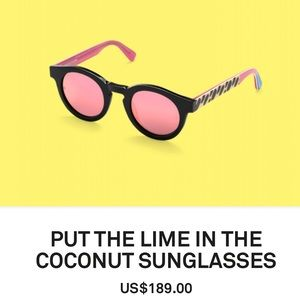 b6f527524fa Sunday Somewhere Accessories - Limited edition PUT THE LIME IN THE 🥥  sunglasses